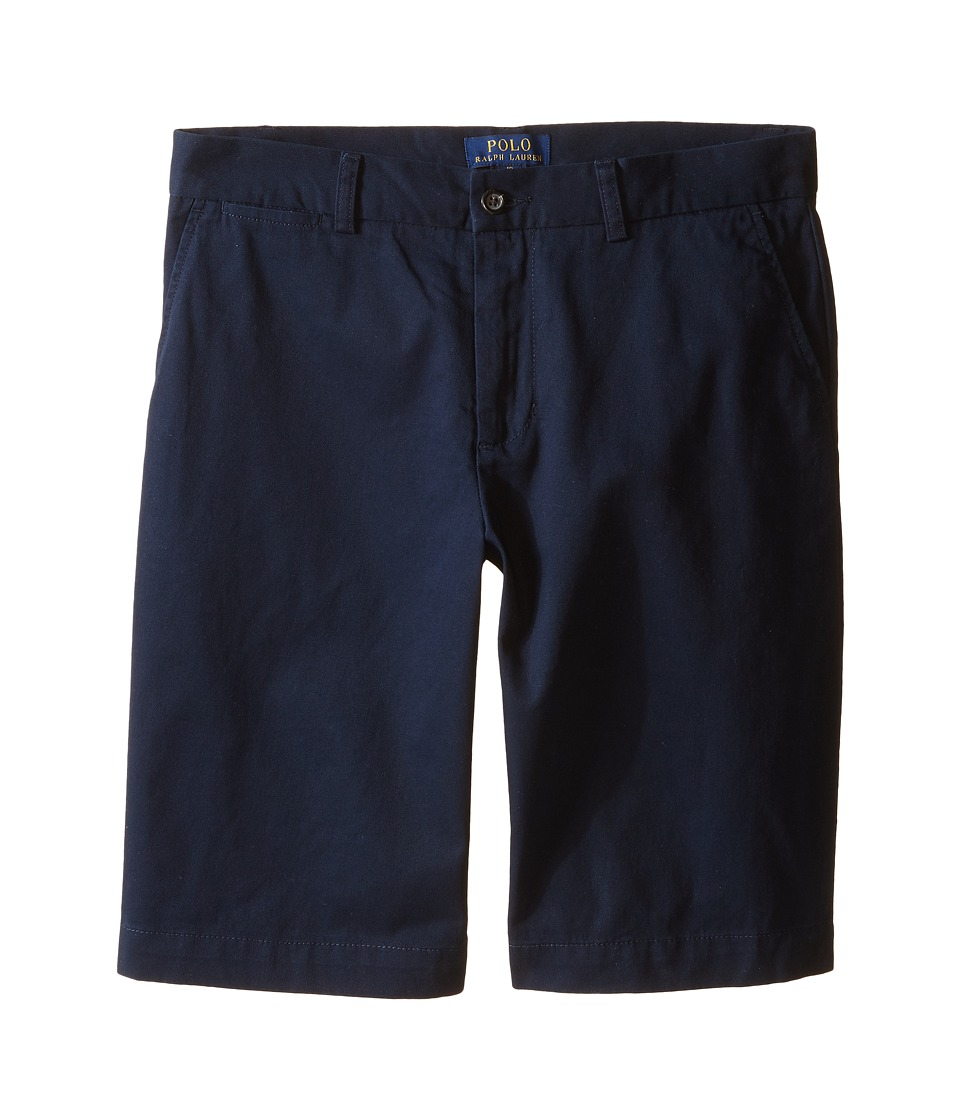 Polo Ralph Lauren Kids - Prospect Shorts (Big Kids) (Aviator Navy) Boys Shorts