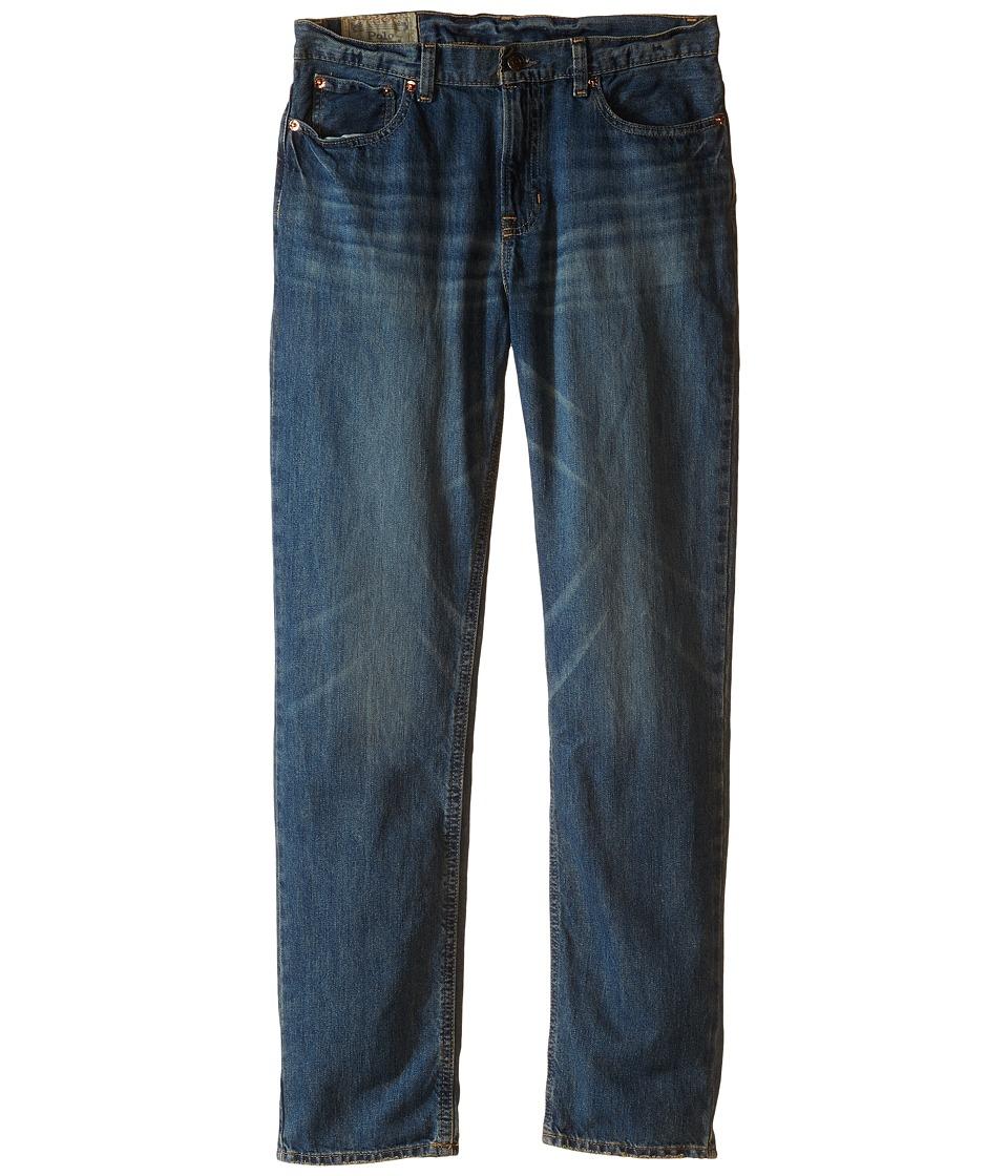 Ralph Lauren Slim Fit Jeans (Big Kids) (Mott Wash) Boy's ...