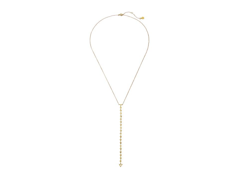 gorjana Arden Lariat Necklace Gold Necklace
