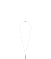 Michael Kors - Logo Plaque Necklace