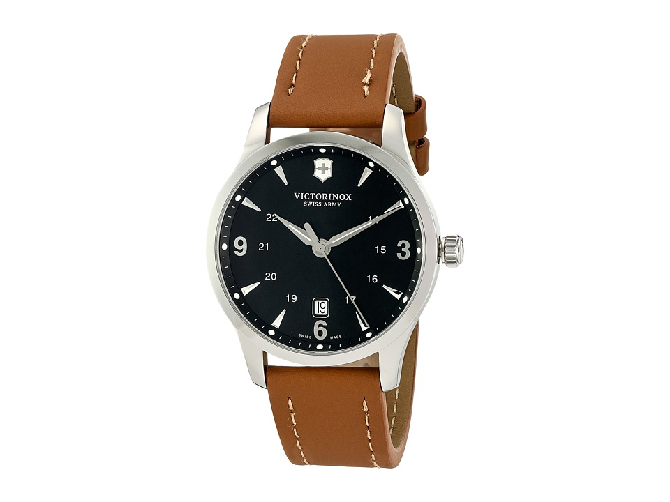 Victorinox Alliance Large 241475 Brown Leather/Black Watches