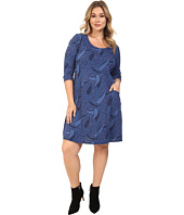 Fresh Produce - Plus Size Paisley Dalia Dress