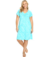 Extra Fresh by Fresh Produce - Plus Size Cancun Effortless Dress
