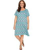 Extra Fresh by Fresh Produce - Plus Size Diamonds Sadie Dress