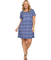 Extra Fresh by Fresh Produce - Plus Size Serenegti Sadie Dress