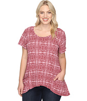 Extra Fresh by Fresh Produce - Plus Size Serengeti Twin Peaks Top