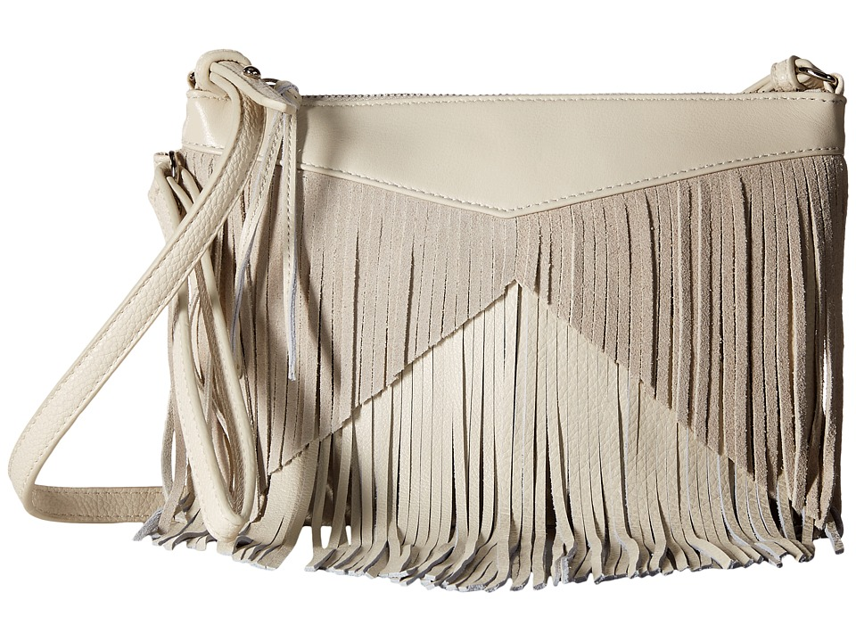Sam Edelman - Adrianna Fringe Crossbody (Modern Ivory) Cross Body Handbags