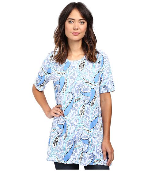 Fresh Produce - Paisley Bahama Top (White) Women's Clothing