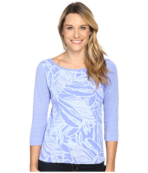 Fresh Produce - Cancun Bella Mingle Top (Periwinkle Blue) Women's Clothing