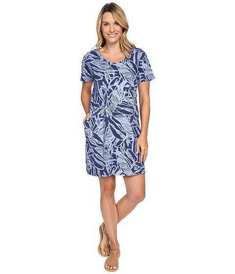 Fresh Produce - Cancun Allure T-Shirt Dress (Moonlight Blue) Women's Dress
