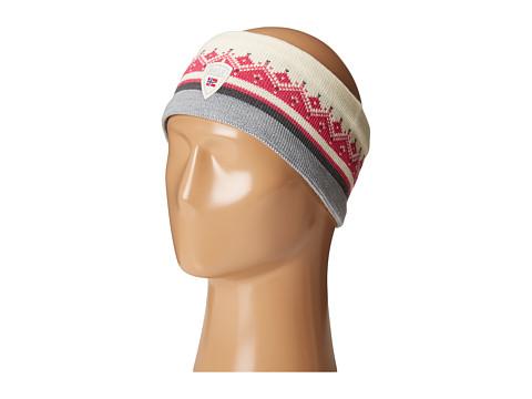 Dale of Norway St. Moritz Headband - Off-White/Allium