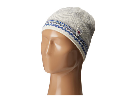 Dale of Norway Glittertind Hat - Off-White/Cobalt
