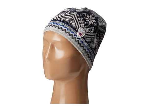 Dale of Norway Glittertind Hat - Off-White/Dark Charcoal