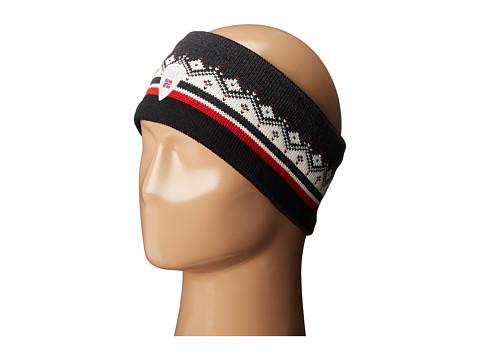 Dale of Norway St. Moritz Headband - Dark Charcoal/Raspberry