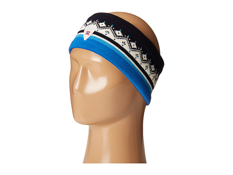Dale of Norway St. Moritz Headband - Navy/Off-White