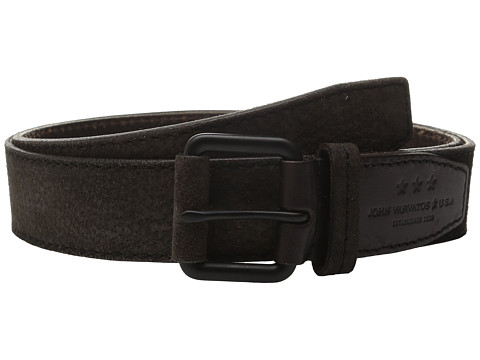 John Varvatos 38mm Textured Suede Belt
