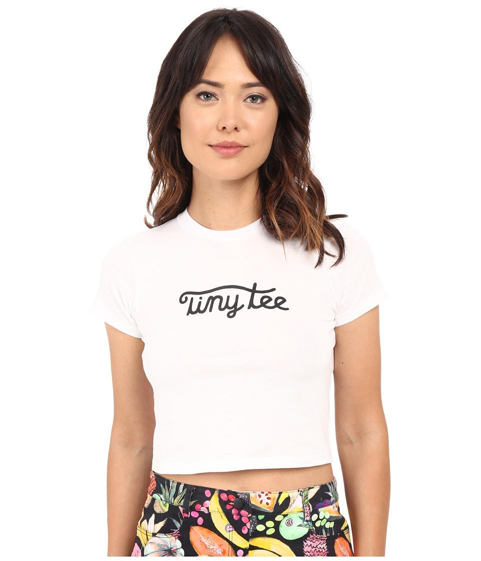 Rachel Antonoff Tiny Tee White Womens T Shirt