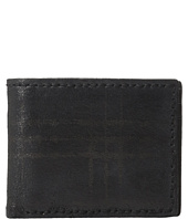 John Varvatos - Plaid Printed Slim Fold Wallet