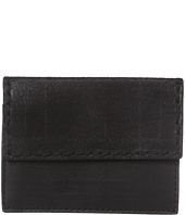 John Varvatos - Plaid Printed Card Case w/ Coin Pouch