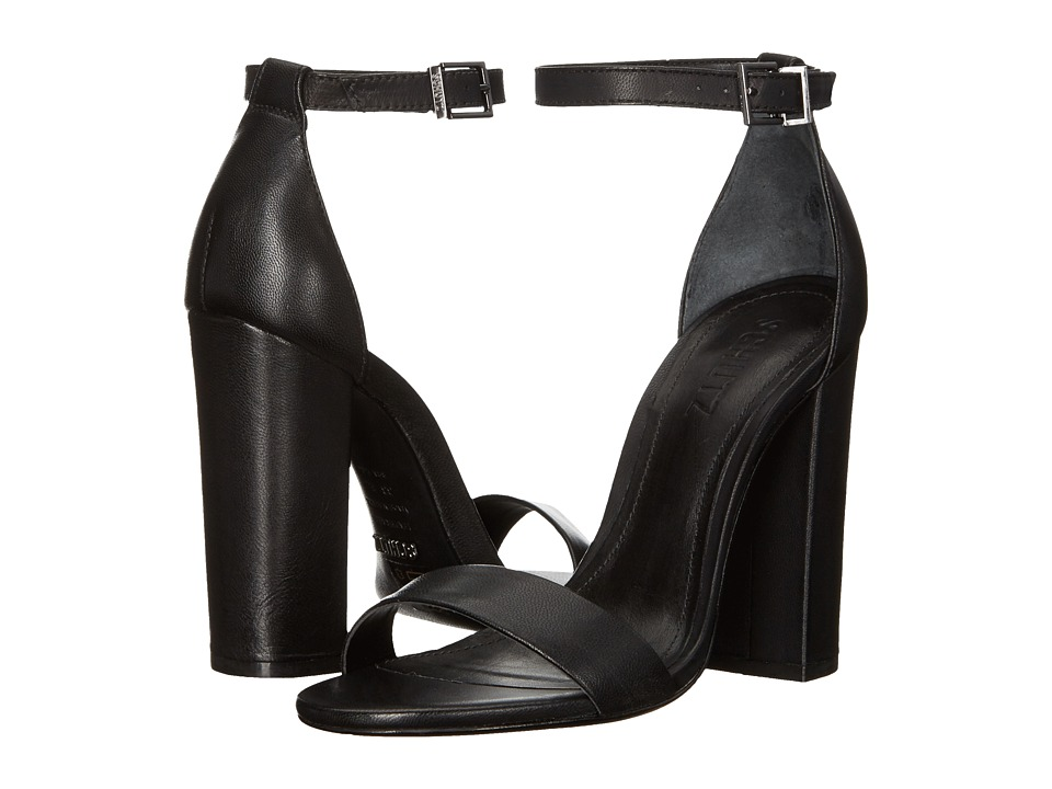 Schutz Enida Black 1 High Heels