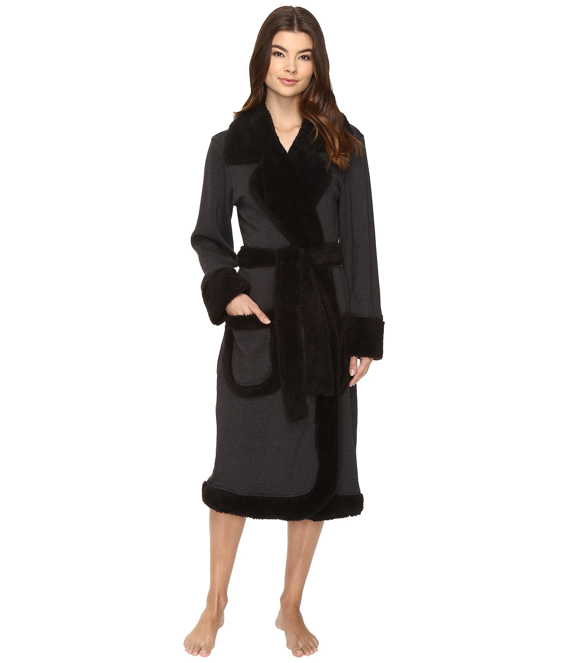 ugg duffield deluxe robe free shipping both ways. Black Bedroom Furniture Sets. Home Design Ideas