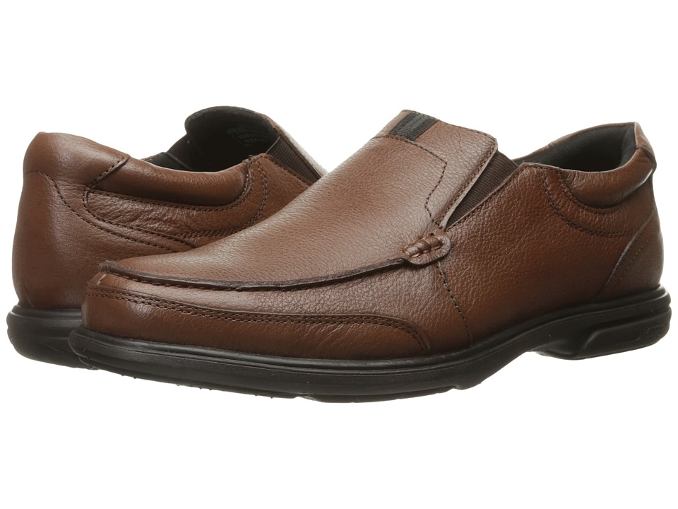 Nunn Bush Carter Moc Toe Slip-On (Brown) Men