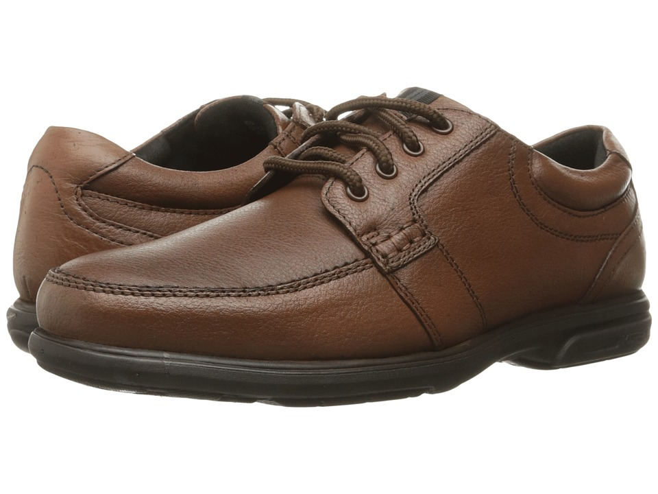Nunn Bush - Carlin Moc Toe Oxford (Brown) Mens Lace up casual Shoes