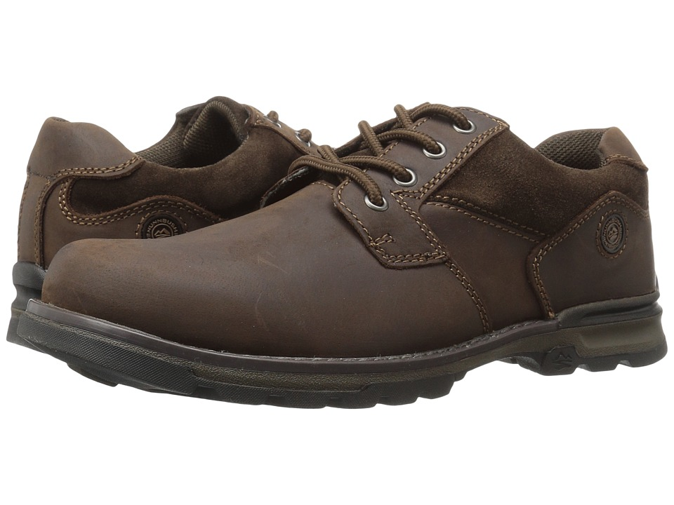 Nunn Bush Phillips Plain Toe Oxford (Brown) Men