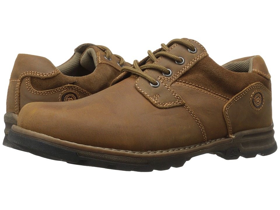 Nunn Bush Phillips Plain Toe Oxford (Camel) Men