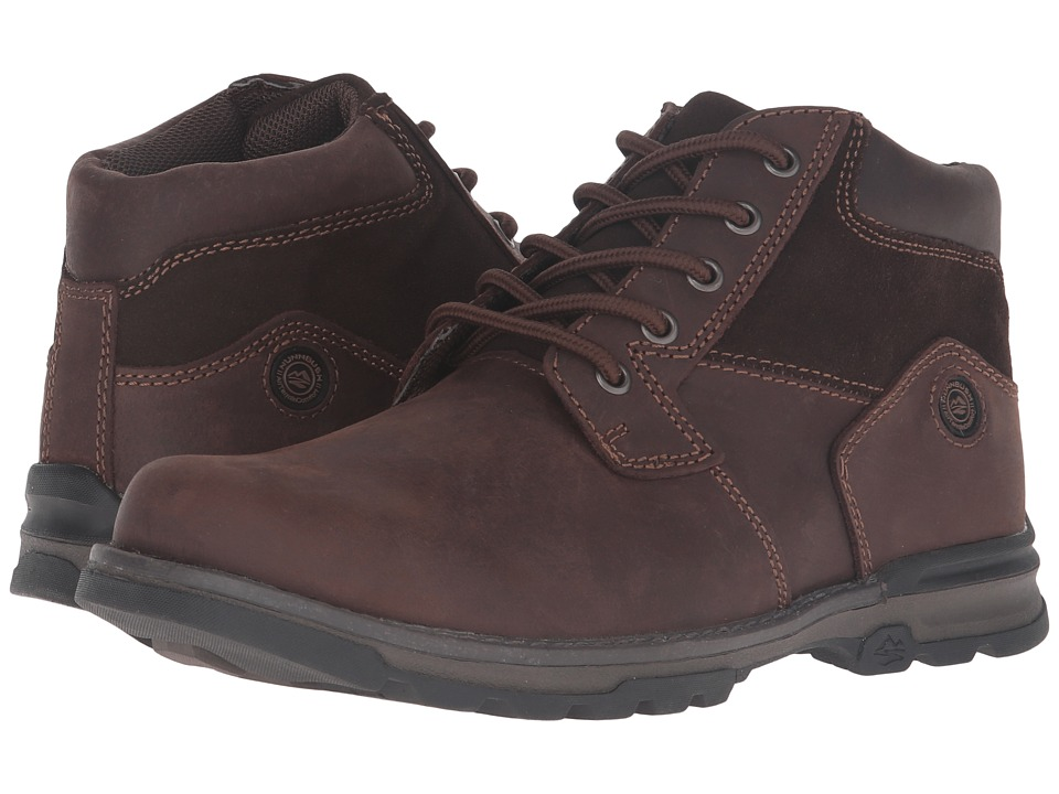 Nunn Bush Park Falls Plain Toe Boot All Terrain Comfort (Brown) Men
