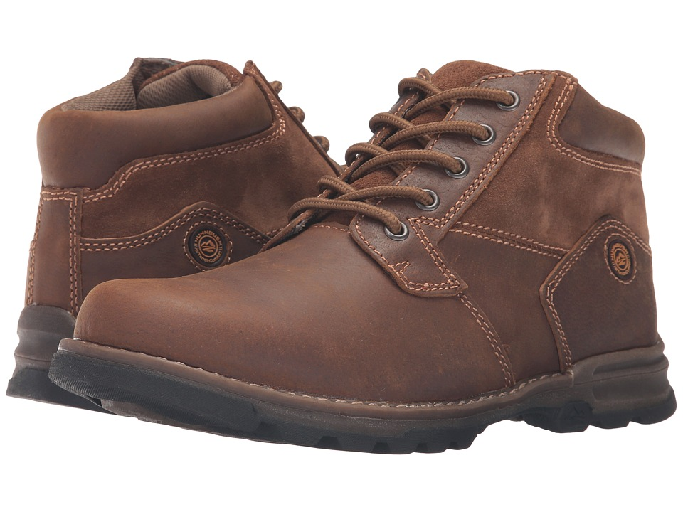 Nunn Bush Park Falls Plain Toe Boot (Camel) Men