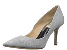 Badgley Mischka - Noel (Silver Woven Metallic Fabric)