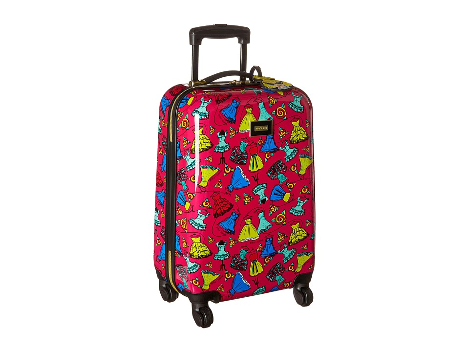 Betsey Johnson - Small Carry-On Luggage (Belle Of The Ball/Fuschia) Carry on Luggage