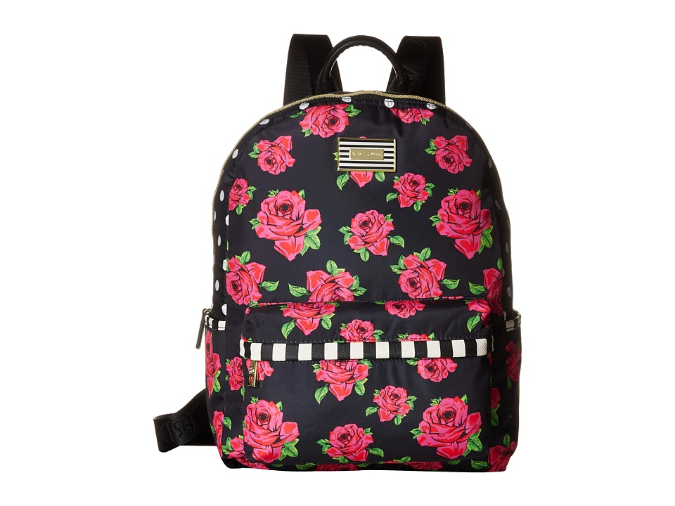 Betsey Johnson - Backpack (Cover Roses/Red) Backpack Bags