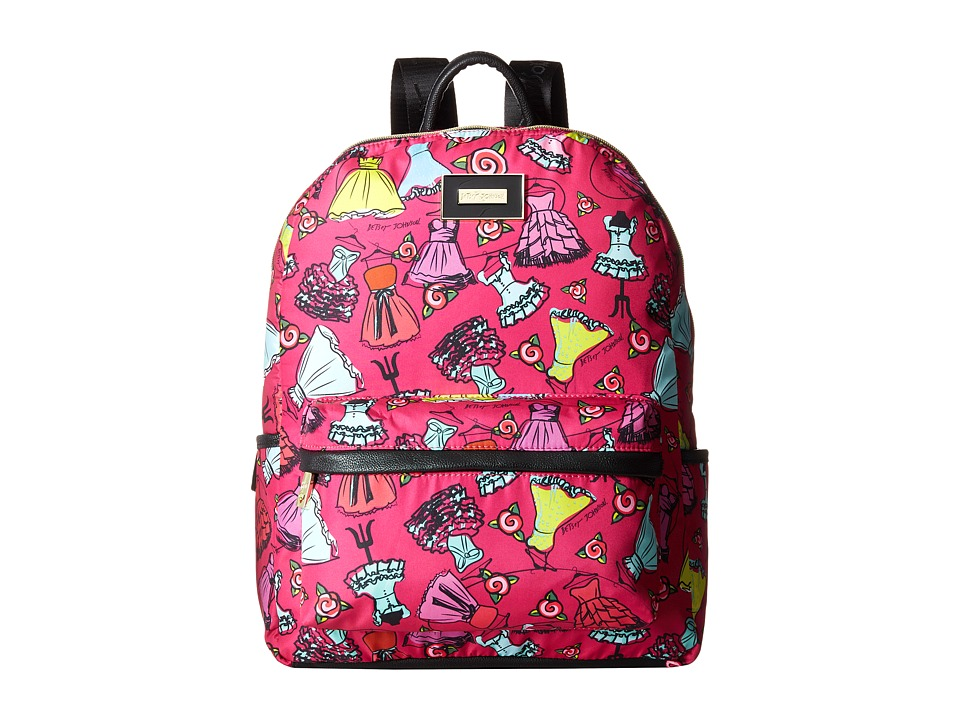Betsey Johnson - Backpack (Belle Of The Ball/Fuschia) Backpack Bags