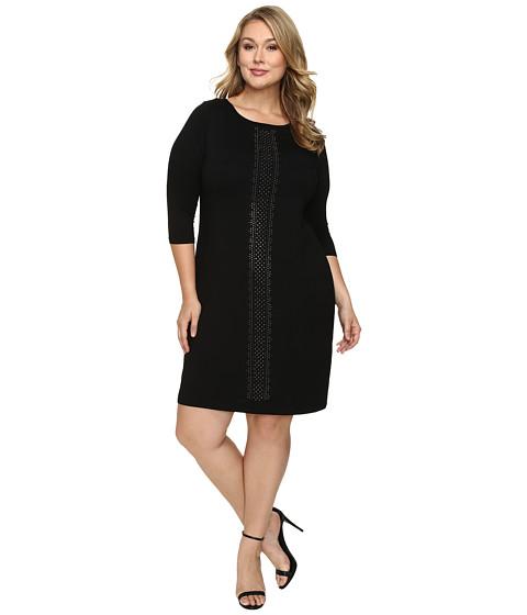 Karen Kane Plus Plus Size Embellished Sheath Dress