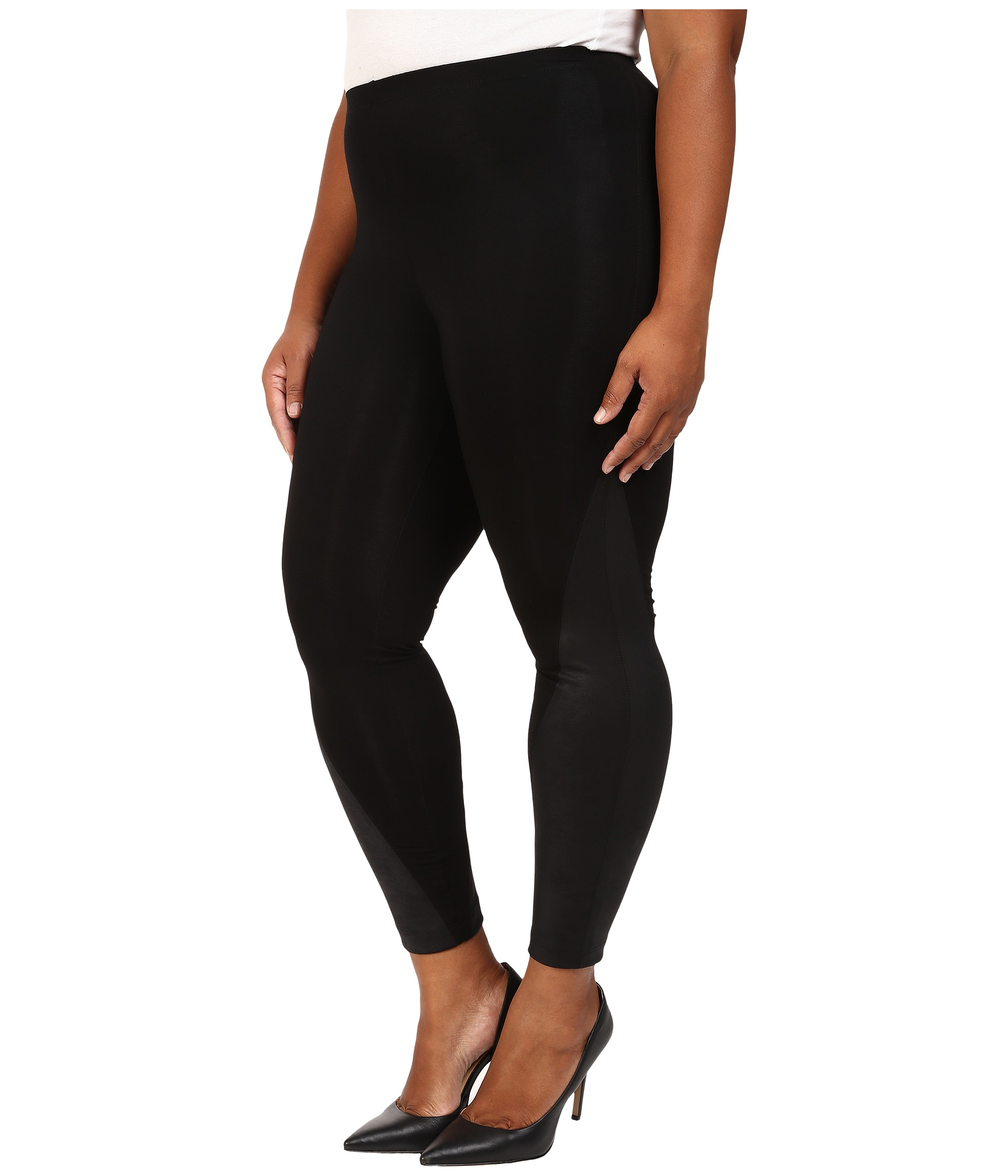 dknyc plus size legging w faux leather panel items found. Sort By. items. View. Sort By. Filter. Like. NYDJ Plus Size. Plus Size Alina Legging Jeans in Faux Leather Coating in Black Grey Leather Coating Plus Size Alina Legging Jeans in Faux Leather Coating in Mahogany Brown Leather Coating. $ MSRP: $ Like.