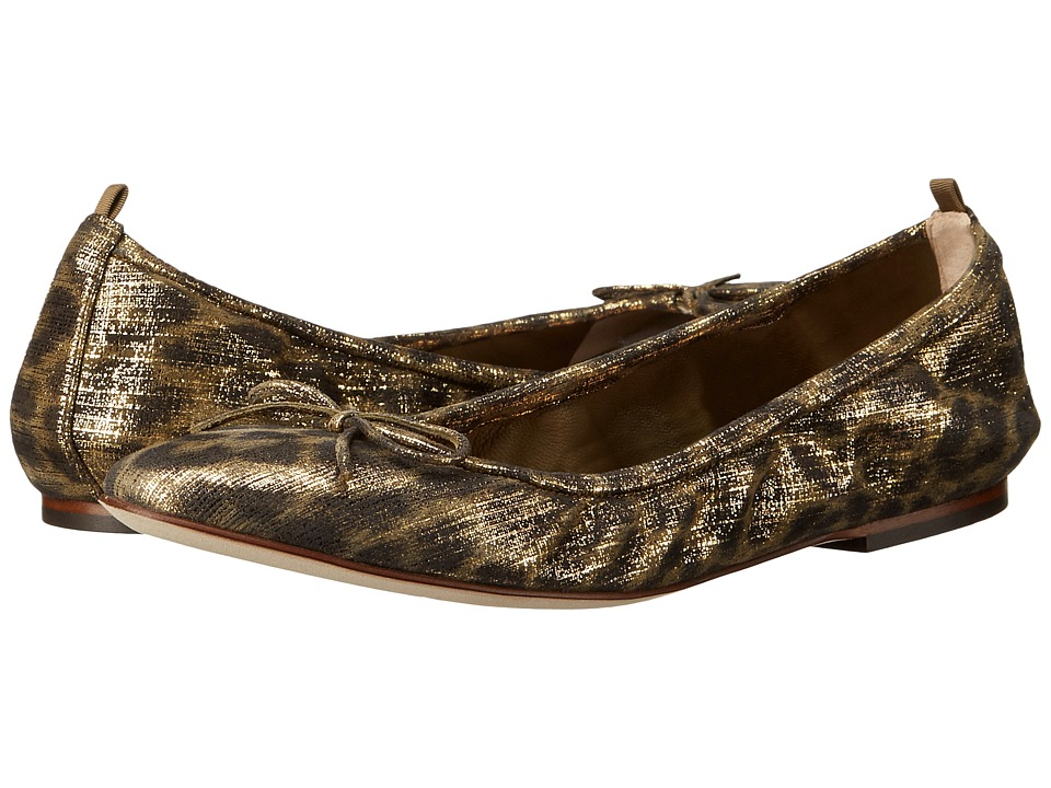 SJP by Sarah Jessica Parker Gelsey Flat (Stunned Printed Leopard Suede) Women