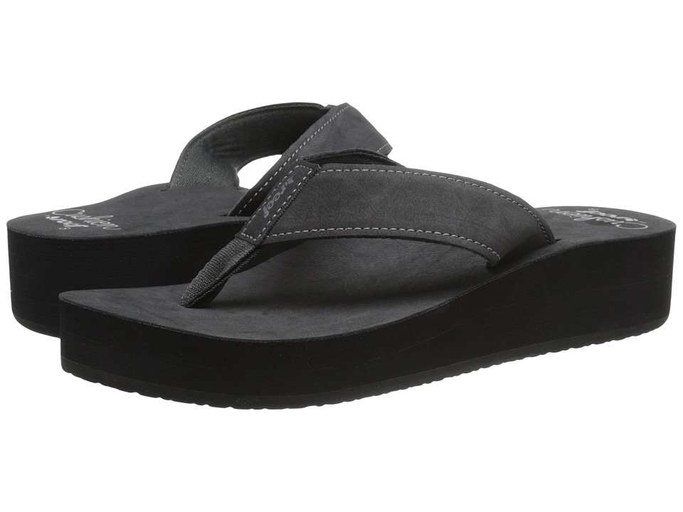 Reef Cushion Butter (Black) Women's Sandals