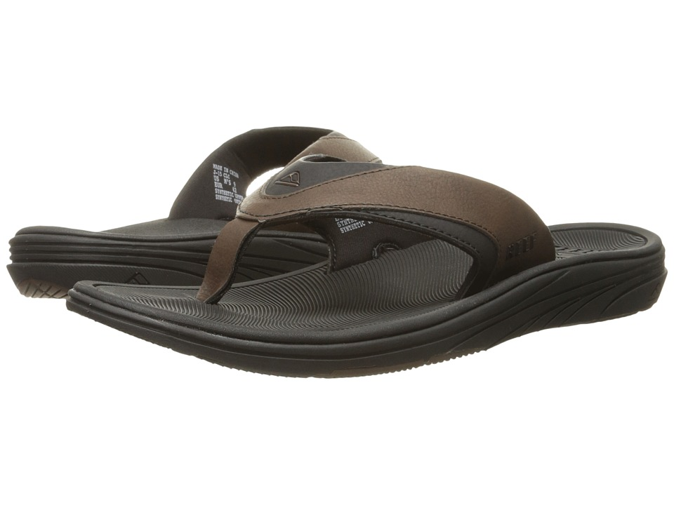 Reef - Modern SL (Black/Brown) Men
