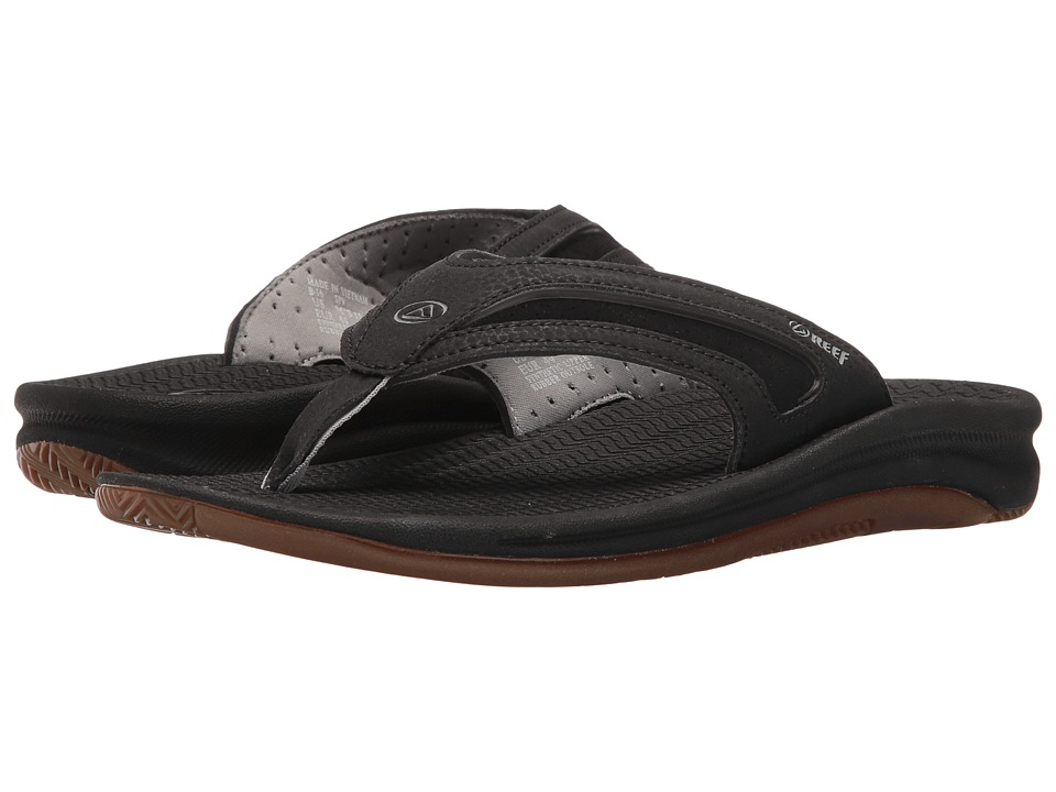 Reef - Flex (Black/Silver) Men