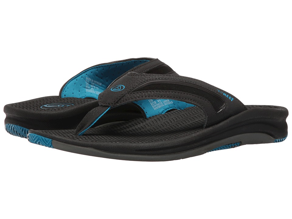 Reef - Flex (Black/Grey/Blue) Men