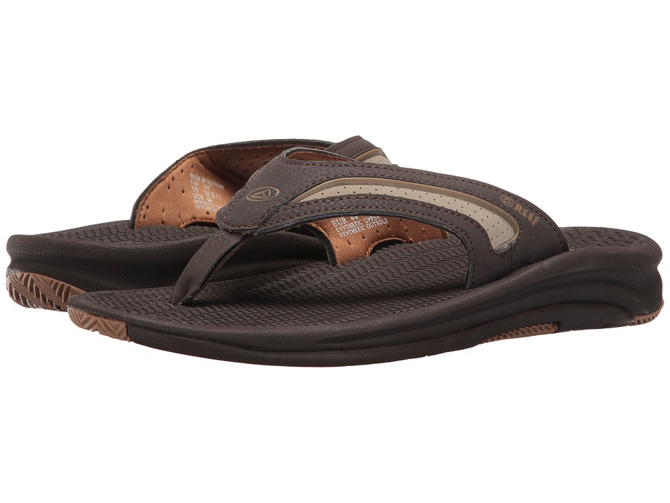 Reef - Flex (Dark Brown/Tan) Men