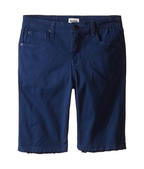 Hudson Kids Stretch Twill Five-Pocket Shorts in Treasure Indigo (Little Kids)