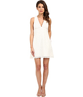 JILL JILL STUART - Deep V Lace Short Dress