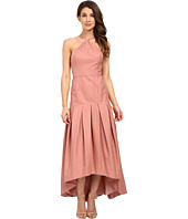 JILL JILL STUART - Drop Waist Faille Fitted Ball Gown