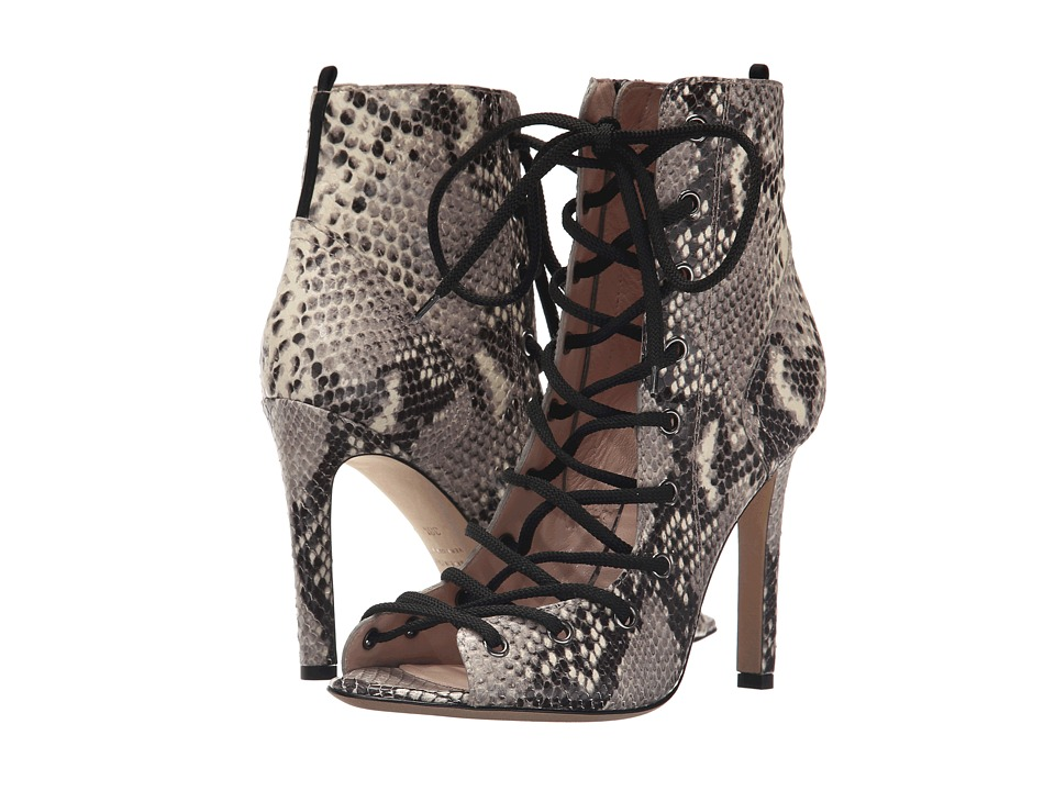 SJP by Sarah Jessica Parker Alison Tintype Gray Printed Snake Womens Shoes