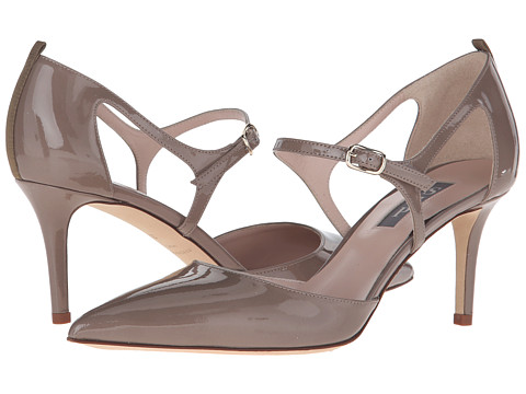 SJP by Sarah Jessica Parker Phoebe - Rules Taupe Patent