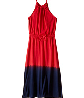 Polo Ralph Lauren Kids - Jersey Dip-Dye Maxi Dress (Little Kids/Big Kids)