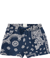 Polo Ralph Lauren Kids - French Terry Bandana Shorts (Little Kids/Big Kids)